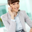 Calling businesswoman — Stock Photo #11669529