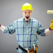 Craftsman shouting — Stock Photo #11669638