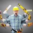 repairman — Stock Photo
