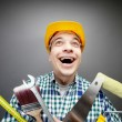 Happy handyman — Stock Photo #11669675