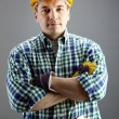 Handsome worker - Stock Photo