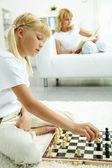 Chess player — Stockfoto