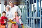 Consumers outdoor — Stock Photo