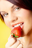 Appetizing strawberry — Stock Photo