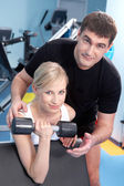 Fitness trainer — Stockfoto