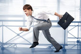 Business races — Stock Photo