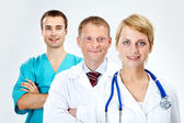 Medical workers — Stock Photo