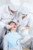 Visit to stomatologist — Stock Photo