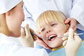 Badanie stomatologiczne — Zdjęcie stockowe