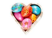 Easter heart — Stock Photo