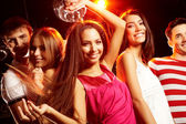 Dancing in club — Stock Photo