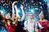 Atmosfera festiva — Foto Stock