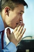 Pensive man — Stock Photo