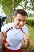 健康的なスポーツマン — ストック写真