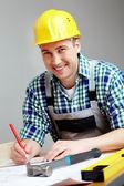Engineer working — Stock Photo