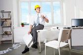 Foreman at work — Stock Photo