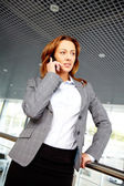 Woman calling — Stock Photo