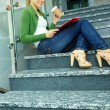 Student with coffee — Stock Photo #11670130