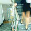 Down the staircase — Stock Photo