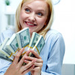 Rich woman — Stock Photo #11670355