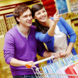 Couple shopping - Photo