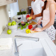 Cooking together — Stock Photo #11670970