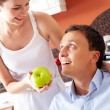 Have an apple — Stock Photo