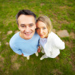 Royalty-Free Stock Photo: Couple outdoors