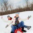 Energetic riding — Stock Photo #11671193