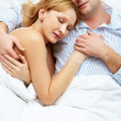 Sleeping together — Stock Photo