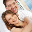 Joyful couple — Stock Photo #11671657