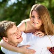 Couple outdoors — Stock Photo #11671743