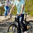 Stock Photo: Bicycle ride