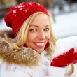 Winter beauty — Stock Photo