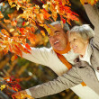 Stock Photo: Enjoying autumn
