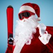 Stock Photo: Santa Claus with gifts