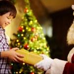 Noel için hediye — Stok fotoğraf