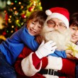 Stock Photo: Love to Santa