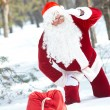 Lost Santa — Stock Photo
