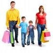 After good shopping - Foto Stock