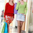 Shopping girls — Stock Photo #11673330