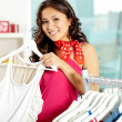 In clothing department — Stock Photo #11673426