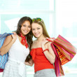 Cheerful customers — Stock Photo #11673477