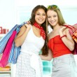 Glamorous shopaholics — Stock Photo #11673482