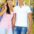Couple of shoppers — Stock Photo #11673816