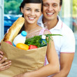 Shopping couple — Stock Photo #11673841