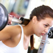 Stock Photo: Weightlifting