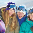 Snowboard-lovers - Stock Photo