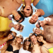 Circle of friends — Stock Photo #11675778