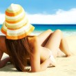 Getting tanned — Stock Photo #11675967